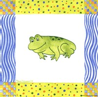 "8"" x 8"" Frog Pictures"