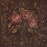 Chocolate Roses I Fine Art Print