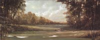 """First Hole by Ruane Manning - 20"""" x 8"""""""