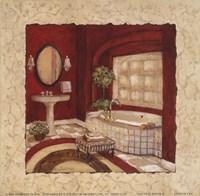 "Nouveau Rouge II by Charlene Winter Olson - 6"" x 6"""