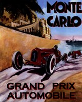 "Monte Carlo Grand Prix by Chris Flanagan - 8"" x 10"" - $10.49"