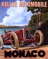 Monaco Rallye Fine Art Print