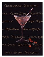 Gum Drop Martini Framed Print