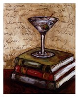 Recipe For The Perfect Martini Fine Art Print