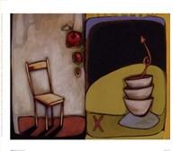 """Chair IV by Maria Eva - 9"""" x 8"""""""