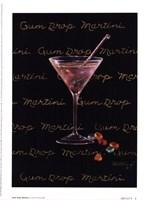Gum Drop Martini Fine Art Print