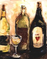 Glass Of White Fine Art Print