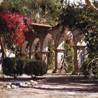 Sunlit Archway (detail) Fine Art Print