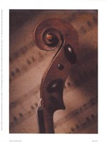 Violin III Framed Print