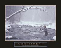 Commitment - Fisherman Fine Art Print