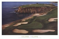 Course On The Cliffs Fine Art Print