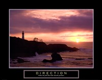 Direction - Lighthouse Fine Art Print