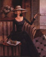 Woman With Pears Fine Art Print