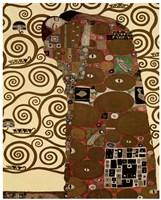 Fulfillment, 1909 by Gustav Klimt, 1909 - various sizes