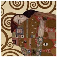 Fulfillment (detail), 1909 by Gustav Klimt, 1909 - various sizes, FulcrumGallery.com brand