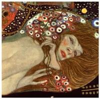 Water Serpents II (detail of woman 2), 1907 by Gustav Klimt, 1907 - various sizes
