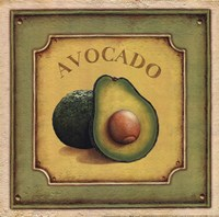 Avocado Fine Art Print