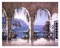 Mediterranean Arch Framed Print