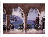 "Mediterranean Arch by Sung Kim - 8"" x 6"" - $9.49"