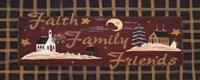 "Happy Holiday by Jo Moulton - 20"" x 8"", FulcrumGallery.com brand"