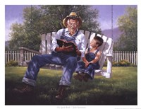 "Good Book by Jack Sorenson - 17"" x 13"" - $11.99"