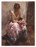 Una Rosa Fine Art Print