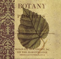 Botany Principles III Framed Print