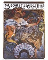 Lefevre Utile by Alphonse Mucha - various sizes