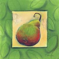 Yellow Pear Blushing Fine Art Print