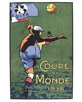 Coupe Du Monde 1938 Fine Art Print