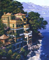 Cove At Portofino Fine Art Print