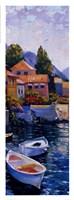 "Lake Como Crossing Panel II by Howard Behrens - 14"" x 38"""