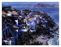 Hillside Villas Fine Art Print