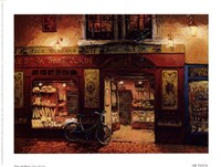 "Wine and Bread by Viktor Shvaiko - 8"" x 6"", FulcrumGallery.com brand"