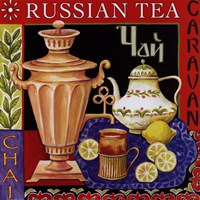 Russian Tea Framed Print