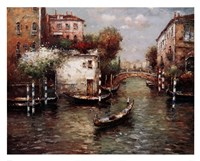 Afternoon In Venice Framed Print