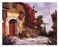 "Bougainvillea by Guido Borelli - 30"" x 24"""