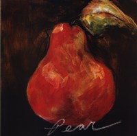 Red Pear Fine Art Print