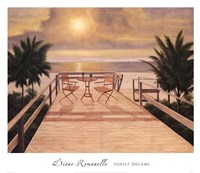 "Sunset Dreams by Diane Romanello - 30"" x 26"""