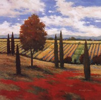 Chianti Country I Fine Art Print