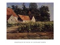 Chateaux Du Buxy Fine Art Print