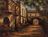 """Arched Passageway by Mali Nave - 28"""" x 22"""", FulcrumGallery.com brand"""