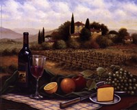 """Terrace At Chianti by Sung Sam Park - 10"""" x 8"""" - $10.49"""
