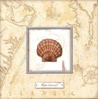 """Sea Treasure II - Mini by Charlene Audrey - 8"""" x 8"""""""