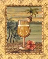 Island Nectar IV Framed Print