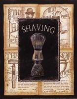 Grooming Shaving Fine Art Print