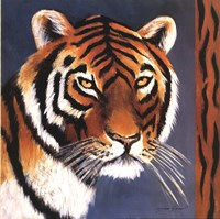 Exotic Tiger - Mini Fine Art Print