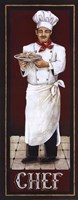 """Chef by Gregory Gorham - 8"""" x 20"""""""