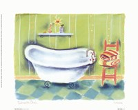 Tub With Chair Fine Art Print