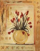 Yellow Vase Framed Print